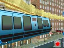 天空火车模拟器:火车驾驶游戏