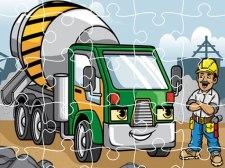 Camiones de construcción Jigsaw