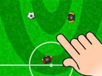 لعبة لمسة واحدة لكرة القدم