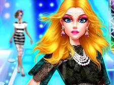 Supermodel Makeover Glam Dress up Make up