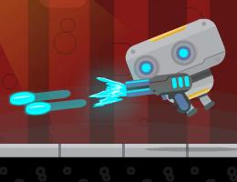 لعبة مغامرات روبو