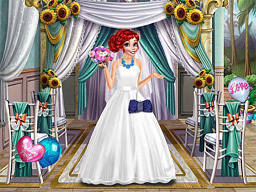 لعبة فستان زفاف الأميرة