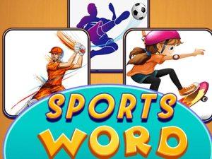 体育单词拼图