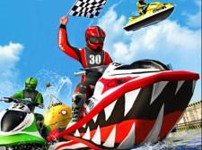 喷气滑雪水船赛车游戏