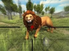 Singa Berburu 3D