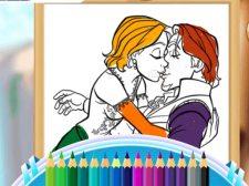 Livre de coloriage reine de beauté