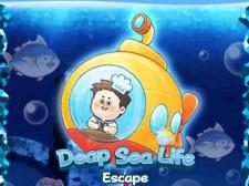 深海生物逃生