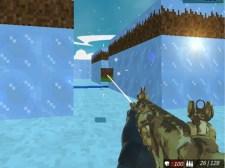 块状特技射击IceWorld多人