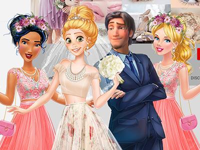 لعبة تجهيز العروسة