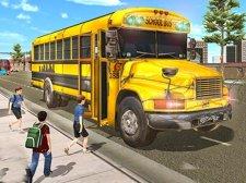 시티 스쿨 버스 운전