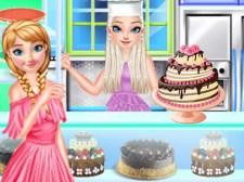プリンセスケーキショップ涼しい夏