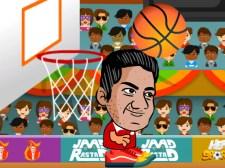 头部运动篮球