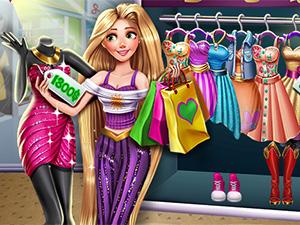 لعبة شراء الملابس والاحذية