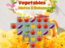सब्जियां मैच 3 डिलक्स