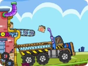 لعبة سيارة نقل الكعك الرائعة