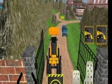 Véritable jeu de construction de la ville d'excavatrice