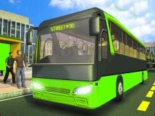 도시 여객 코치 버스 시뮬레이터 버스 운전 3D