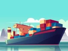 货船拼图拼图