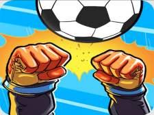 girl and boy football