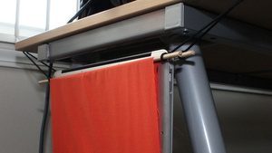 Make a Laptop Hammock for a Dollar and Hang Your Laptop Off Your Desk