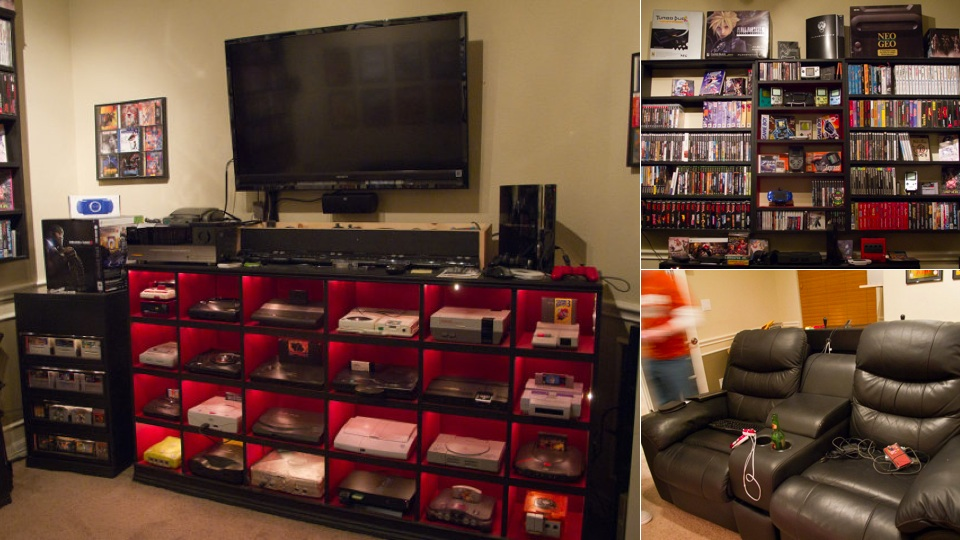 A Historically Awesome Gaming Setup With Every Console In
