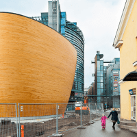 The Kamppi Chapel of Silence, or if Noah's Ark Became a Church...