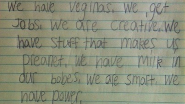 An 8-Year-Old Girl's Awesome List of Why Women Rule
