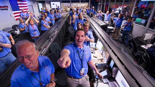 NASA's Curiosity Rover Arrives Safely on Mars