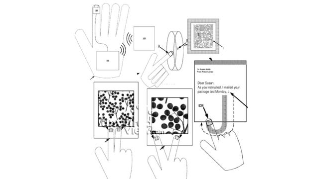 Could These Patented Smart Gloves Be a Google Glass Peripheral?