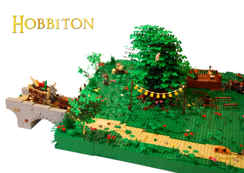 Enormous LEGO Hobbiton Model Goes Ever On And On