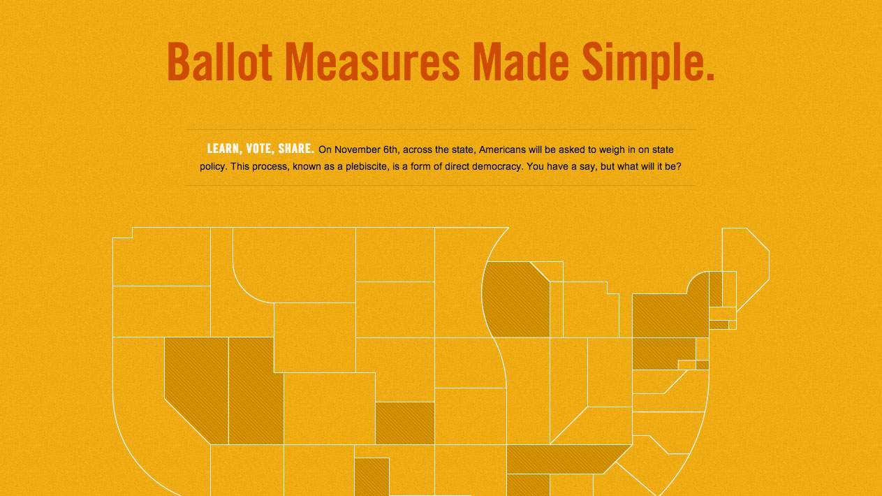 Direct Democracy Is Easy with Ballot Measures Made Simple