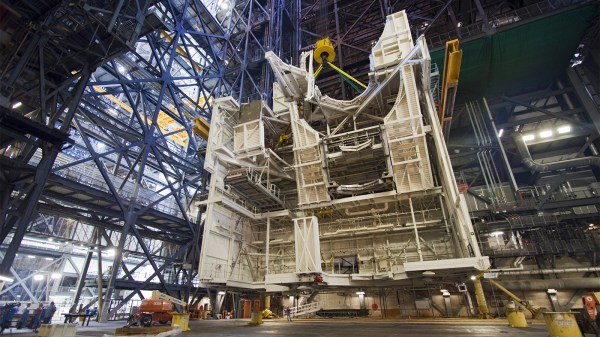 NASA Dismantles The Last Traces Of The Space Shuttle