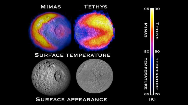 """Saturn's moons could comprise """"a veritable arcade"""" of Pac-Men"""