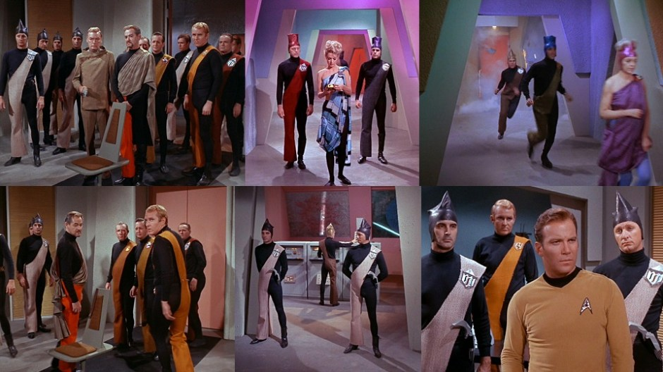 Image result for star trek a taste of armageddon black and white