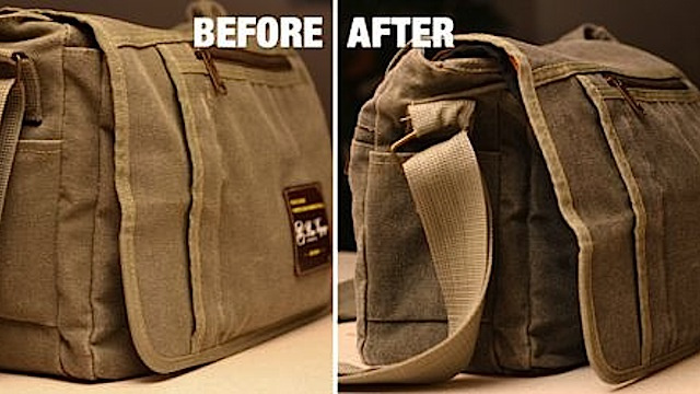 Click here to read Waterproof Any Canvas Bag with Wax