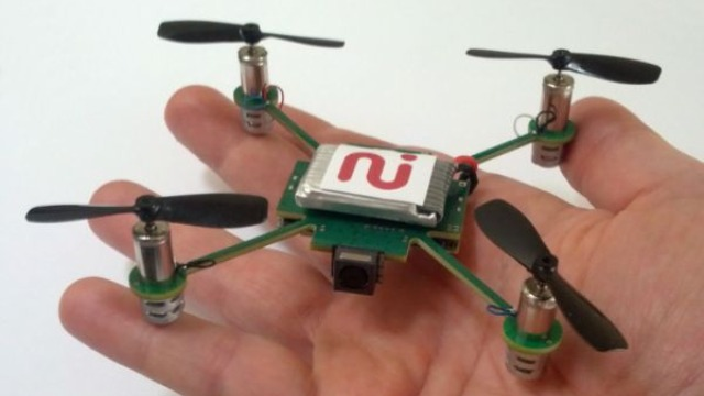 This Tiny Pet Quadcopter Could Be Your Own Personal Cameraman