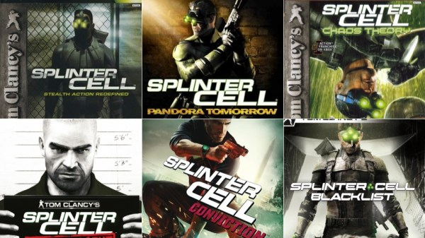 Splinter Cell Has Changed, Just Look At The Box Art ...