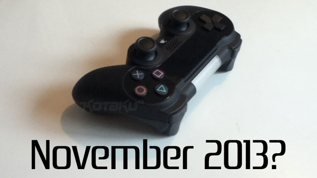Source: The PS4 Will Be Out This November, And You'll Be Able To Control It With Your Phone