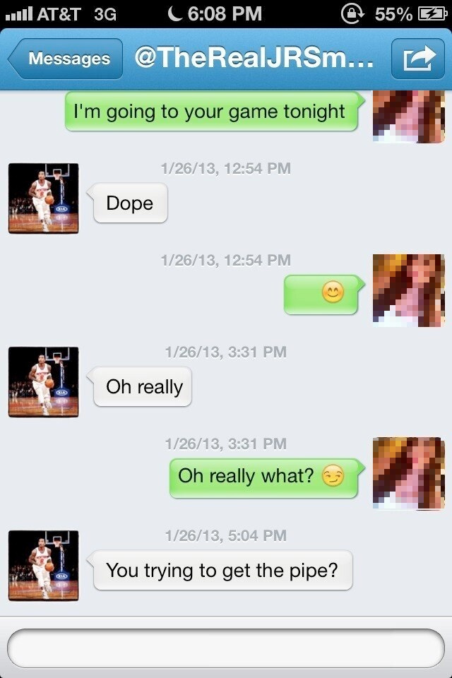 Ladies, J.R. Smith's Twitter Come-On Will Have You Sopping Wet [UPDATE: J.R. Responds]