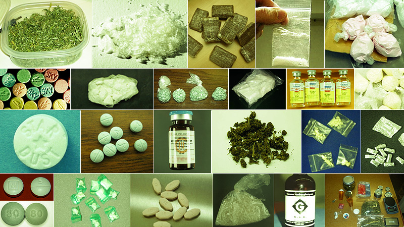 Some of Silk Roads substances...
