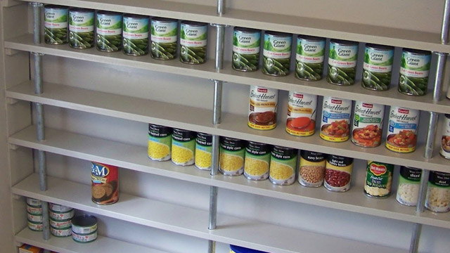 Build An Affordable, Custom Pantry Shelving System With