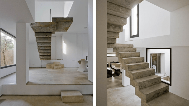 The House With The Floating Staircase The PractitioNERD