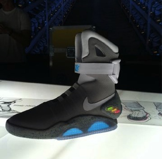 pretty nice fc325 1b01e The Nike Air Mag—AKA the Back to the Future Shoes—Are Real,