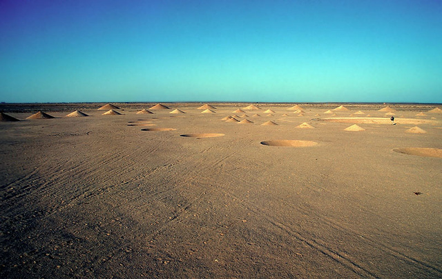 The Mysterious Cones of the Egyptian Desert