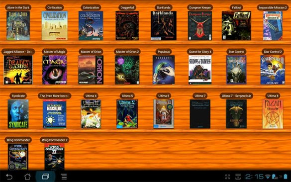 How To Turn Your Android Phone Into A Gaming Powerhouse   Kotaku     The quickest  easiest and most legal way to get hold of old PC games is to  visit a site like Good Old Games  Many titles there are supported by  DOSBox