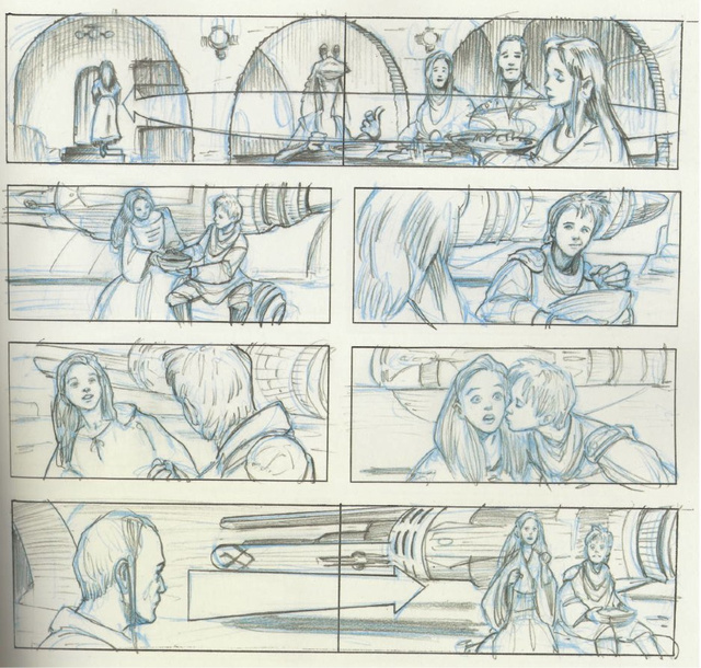 Storyboards reveal the amazing Star Wars prequel you never saw