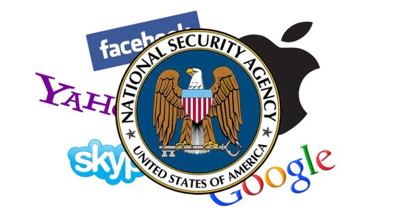 Companies involved in PRISM (pic: Gawker Media)