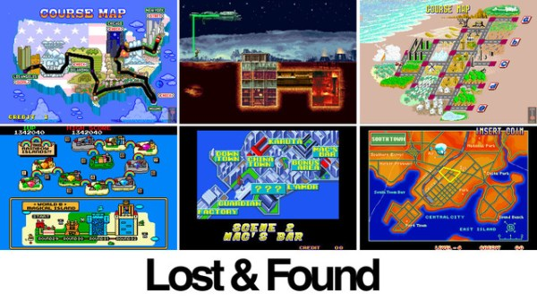 The Wonderful World of Video Game...World Maps