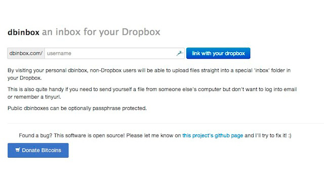 Dbinbox Gives Your Dropbox Account an Inbox Anyone Can Upload To