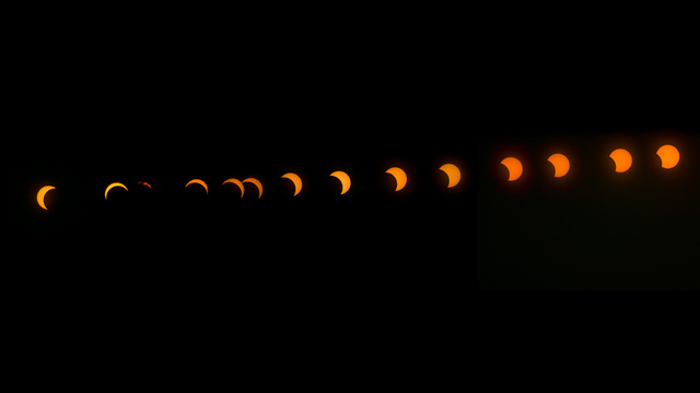 There Was an Incredible Hybrid Solar Eclipse this Morning